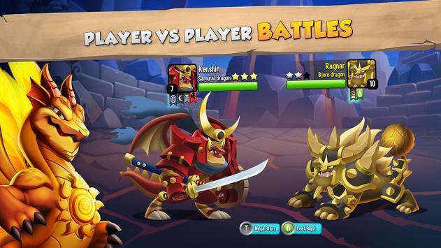 Dragon City: ¡Lucha Con Tu Dragón, Cría Huevos! Poster