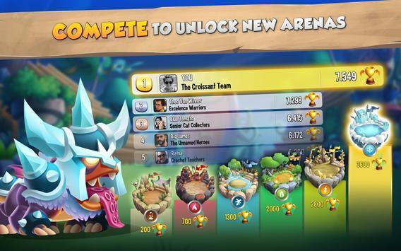 Dragon City: ¡Lucha Con Tu Dragón, Cría Huevos! captura de pantalla 12