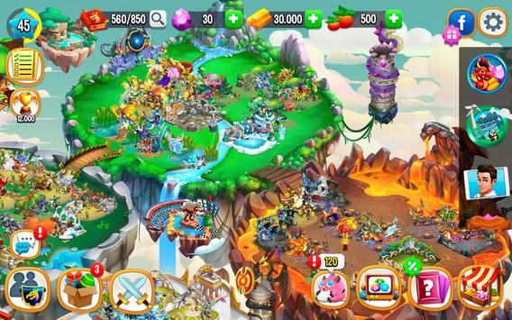 Dragon City: ¡Lucha Con Tu Dragón, Cría Huevos! captura de pantalla 13
