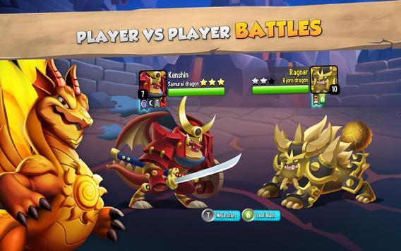Dragon City: ¡Lucha Con Tu Dragón, Cría Huevos! captura de pantalla 14