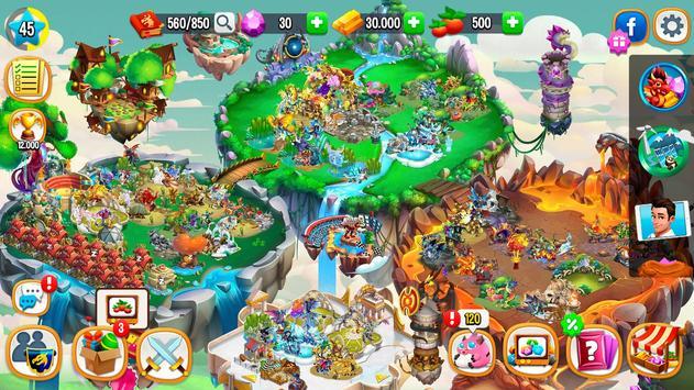 Dragon City स्क्रीनशॉट 6