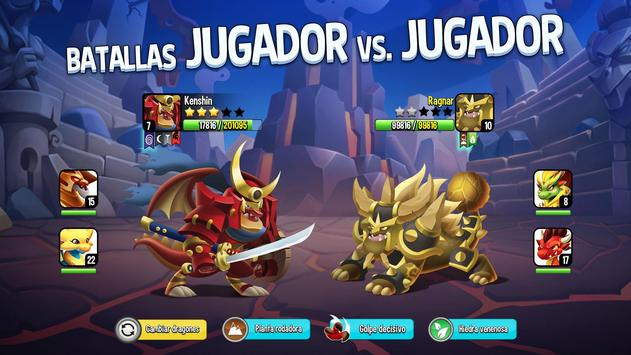 Dragon City: ¡Lucha Con Tu Dragón, Cría Huevos! captura de pantalla 3
