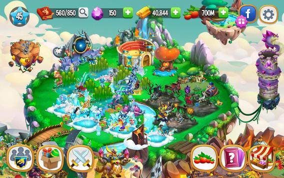 Dragon City: ¡Lucha Con Tu Dragón, Cría Huevos! captura de pantalla 20