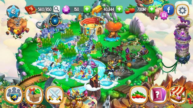 Dragon City: ¡Lucha Con Tu Dragón, Cría Huevos! captura de pantalla 6