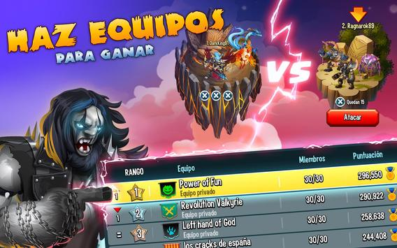 Monster Legends captura de pantalla 15