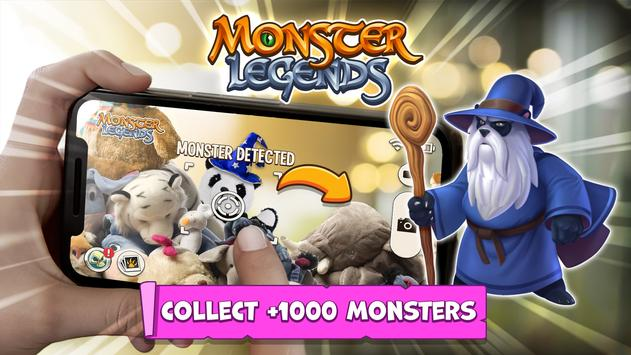 Monster Legends: Breed & Merge Heroes Battle Arena poster
