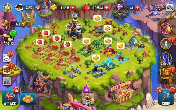 Monster Legends: Breed & Merge Heroes Battle Arena screenshot 20