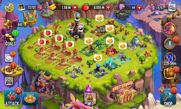 Monster Legends: Breed & Merge Heroes Battle Arena screenshot 6