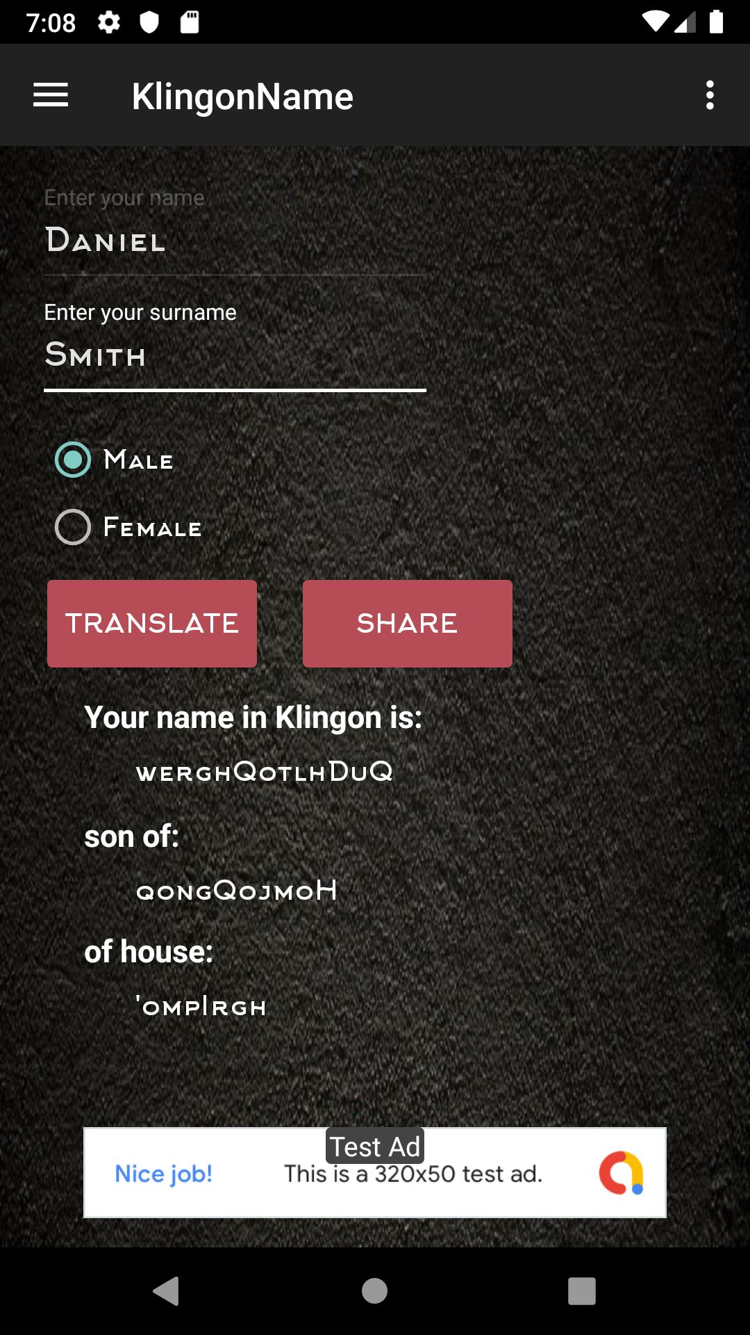 Klingon Name For Android Apk Download