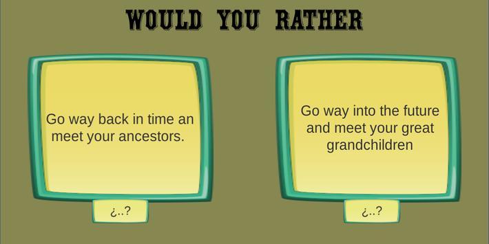 Would you rather friends screenshot 5
