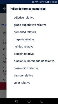 Diccionario screenshot 1