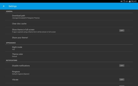 Themes for Telegram Ekran Görüntüsü 13