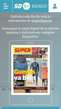 Kiosco Superdeporte poster