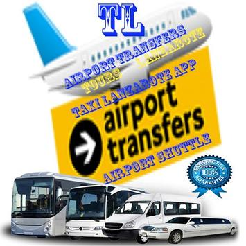 Airport Transfers Taxi Lanzarote poster