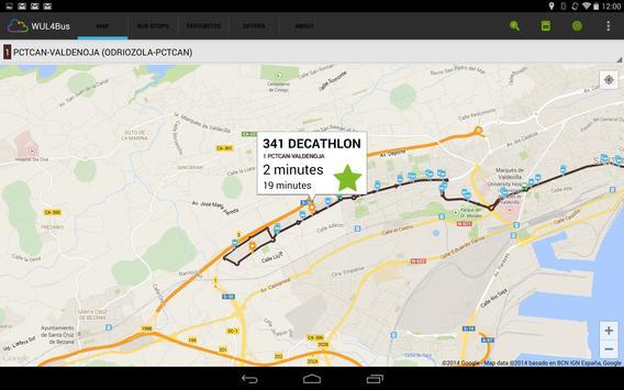 Santander Buses (WUL4Bus) screenshot 4