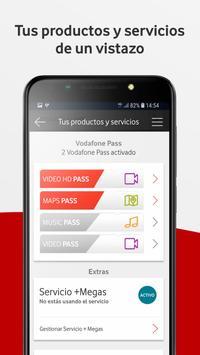 Mi Vodafone captura de pantalla 3