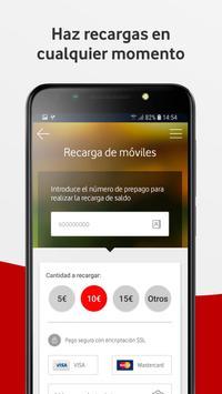 Mi Vodafone captura de pantalla 4