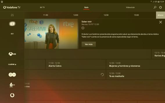 Vodafone TV screenshot 6