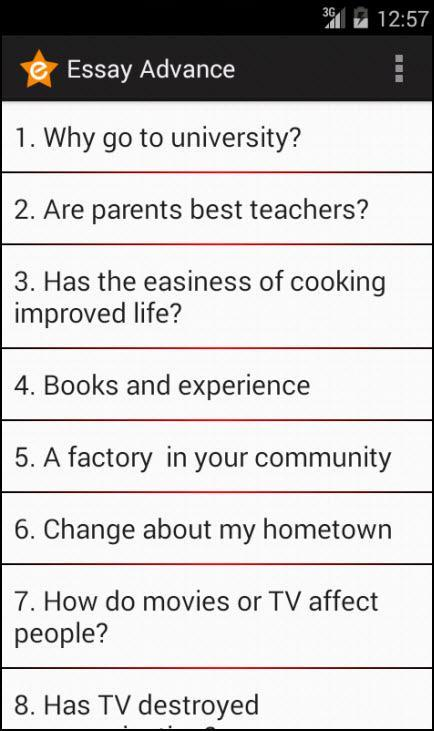 English Essay Internet  Essay Formula also Easy Way To Write An Essay Advance English Essay For Android  Apk Download Persuasive Essay On School Hours