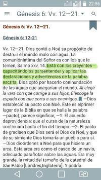 Bible Study Reina Valera in Spanish screenshot 4