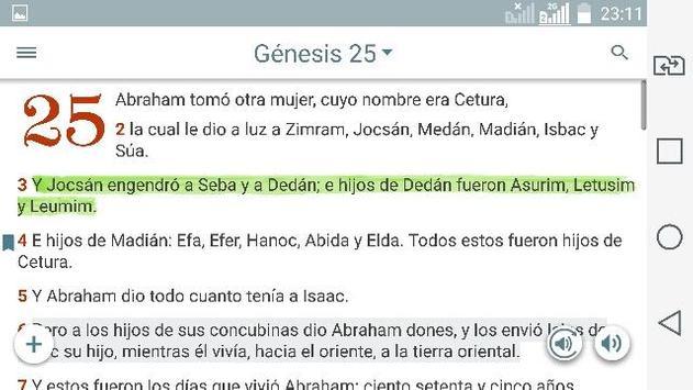 Bible Study Reina Valera in Spanish screenshot 8