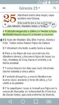 Bible Study Reina Valera in Spanish poster