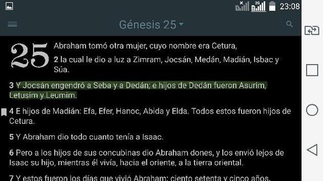 Bible Study Reina Valera in Spanish screenshot 16