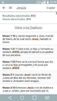 Bible Study Reina Valera in Spanish screenshot 3