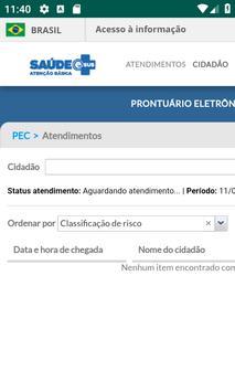 Prontuário Eletronico - ESUS - Divino - MG screenshot 1