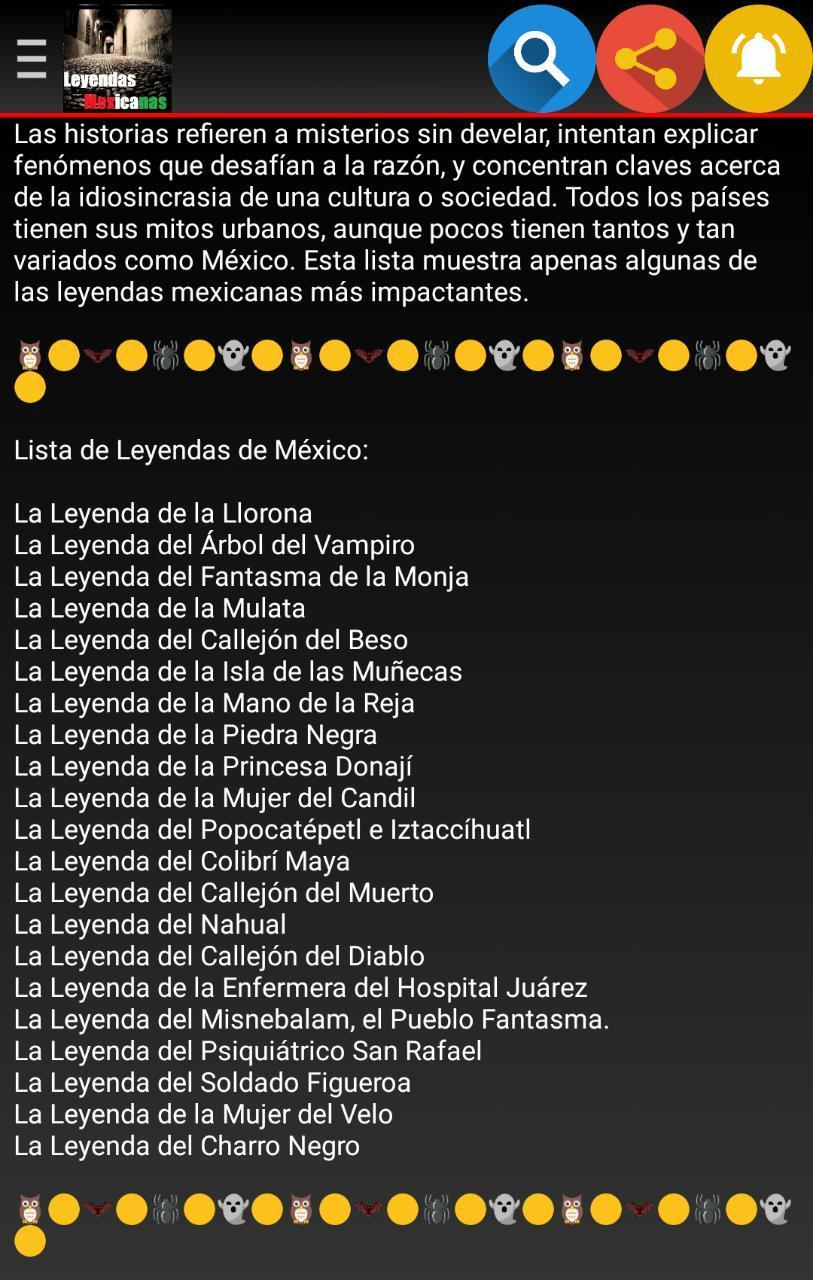Leyendas Mexicanas for Android APK Download