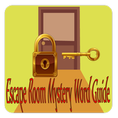 Escape Room Mystery Word Guide :Answers All levels icon
