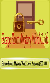 Escape Room Mystery Word Guide :Answers All levels screenshot 1