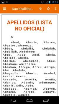 Apellidos nacionalidad española poster