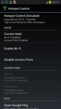 Hotspot Control screenshot 1