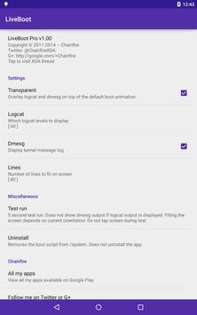 root] LiveBoot для Андроид - скачать APK