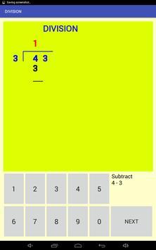 Multi-digit division screenshot 2