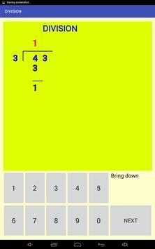 Multi-digit division screenshot 3