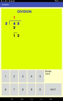 Multi-digit division screenshot 4