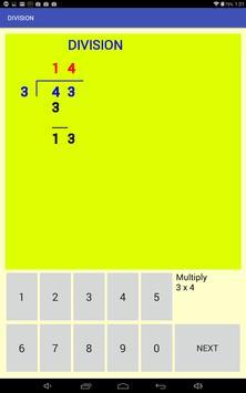 Multi-digit division screenshot 5