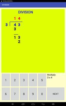 Multi-digit division screenshot 6