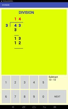 Multi-digit division screenshot 7