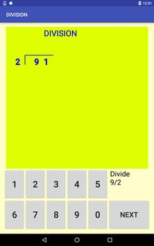 Multi-digit division screenshot 8