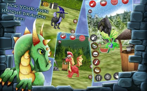 My Pocket Dragon Pet syot layar 2