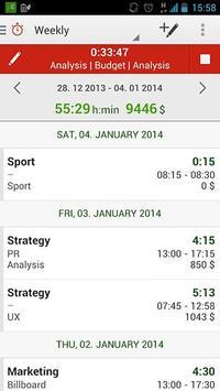 primaTime Tracking screenshot 2
