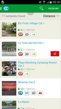 CampingCard ACSI screenshot 1