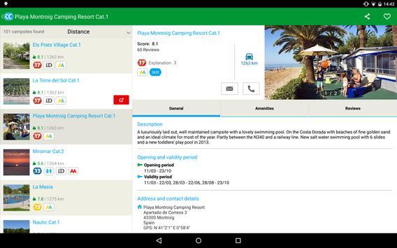 CampingCard ACSI screenshot 8