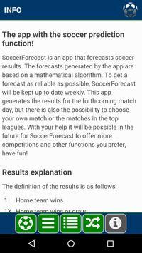 Soccer Forecast скриншот 4