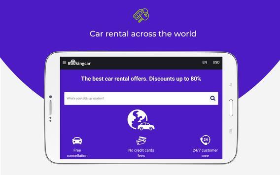 Bookingcar - car rental comparison screenshot 8