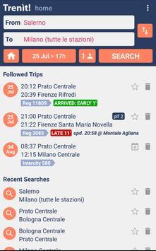 2 Schermata Orari Treni + Ritardi + Alta Velocità