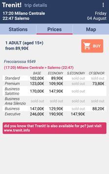 3 Schermata Orari Treni + Ritardi + Prezzi Alta Velocità
